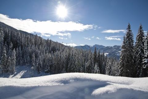 Foto Wagrain Winterfoto Schneelandschaft
