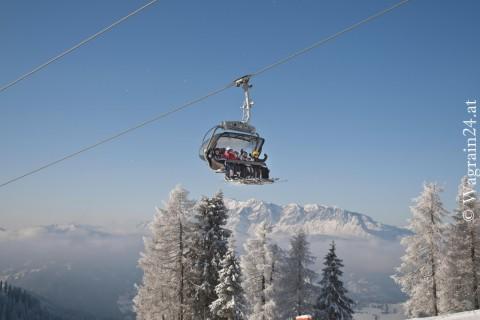 Foto Wagrain Winterfoto Kabinenbahn Hachau
