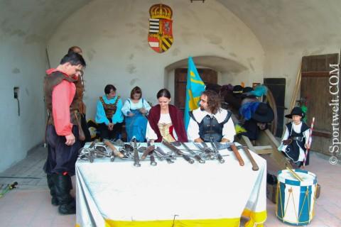 Foto Ritterspiele auf der Burg Hohen Werfen
