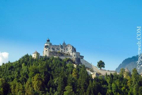 Foto Die Burg Hohen Werfen