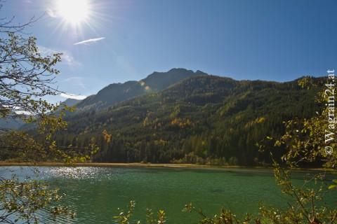 Foto Herbststimmung am Jägersee in Kleinarl