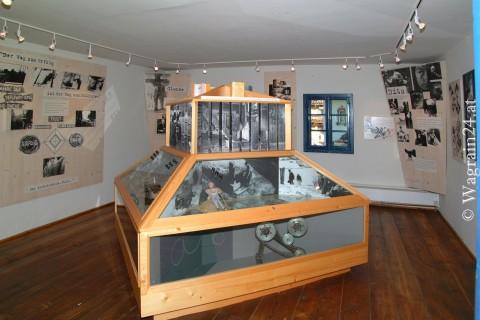 Foto Schaukasten im Waggerl Museum Wagrain