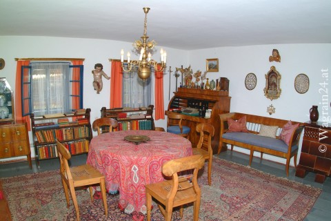 Foto Wohnraum im Waggerl Museum Wagrain