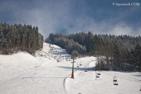 Foto Der Monte Popolo - Winter in Eben