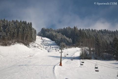 Foto Der Monte Popolo - Winter in Eben