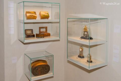 Foto Uhren - Spieldosen - Pflegerschlössl Wagrain