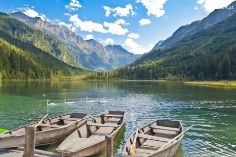 Foto Ruderboote beim Jägersee
