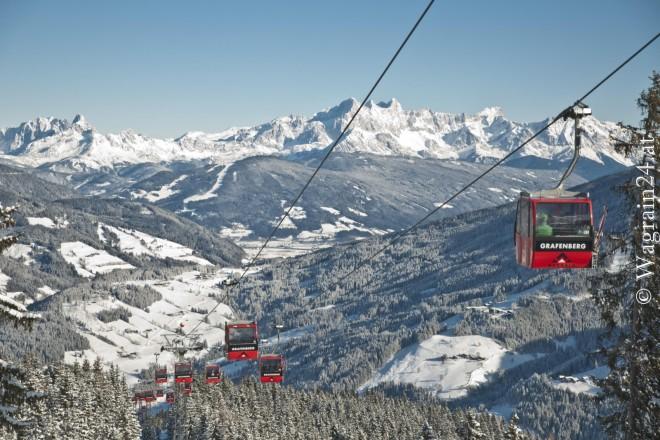 Foto Wagrain Winterfoto Grafenberg Panoramablick