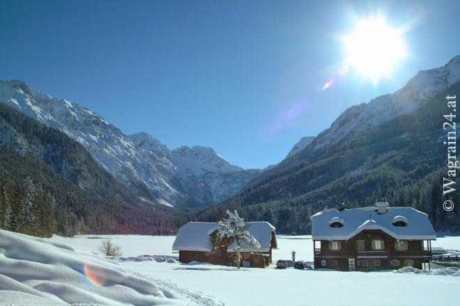 Foto Jägersee im Winter