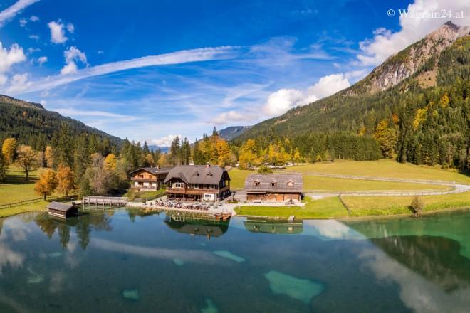 Foto - Sommer am Jägersee - Luftaufnahme